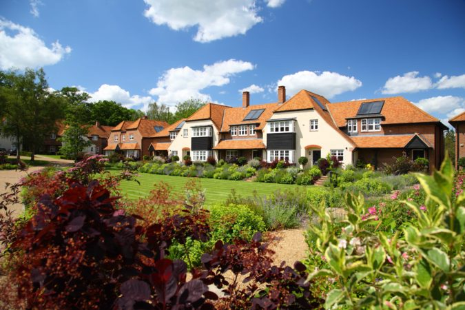 Retirement housing at Frenchlands Gate (Beechcroft)