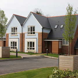 Millbrook Village designed by Barton Willmore