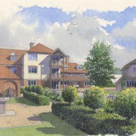 RM Architects design of scheme at St Albans