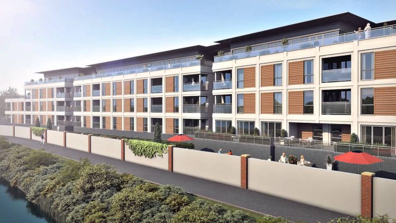Retirement Scheme at River View Court - Armstrong Burton Group