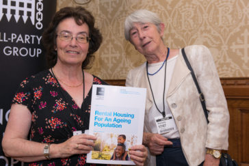 RHG representatives< Kathleen Dunmore & Ju;ia Atkins at APPG report launch